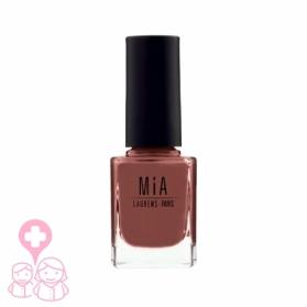 Mia Cosmetics Mahogany esmalte fórmula 9-free gran cobertura 11 ml