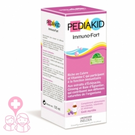 PediaKid Immuno-fort jarabe para defensas 125 ml