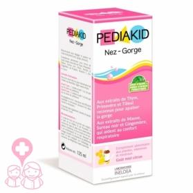 PediaKid Nariz-Garganta calmante de las vías respiratorias 125 ml