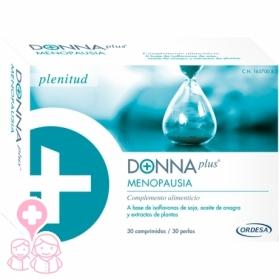 Donnaplus Menopausia 30 comprimidos con Soja, Onagra y Uva