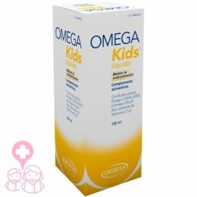 Omega Kids ácidos Omega 3 y 6 100 ml