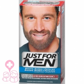 Just for Men tinte para barba y patillas Castaño Oscuro