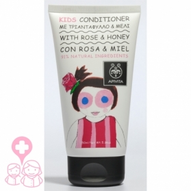 Apivita Kids acondicionador con rosa de Bulgaria & miel 150 ml