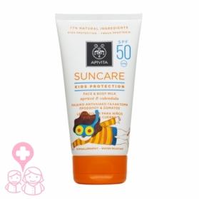 Apivita Suncare leche protectora solar niños SPF50 150ml