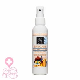 Apivita Suncare spray solar niños SPF50 150ml+ Pulsera indicadora de radiación UV