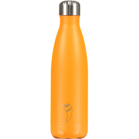 Chilly´s termo acero inoxidable  color naranja neon 500ml