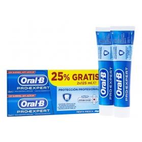 Oral-B DUPLO Pro Expert protección profesional pasta dentífrica 2x125 ml