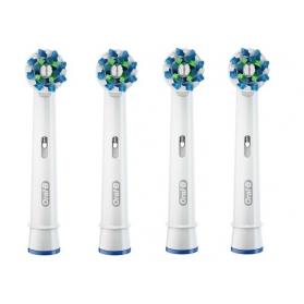 Oral-b cross action recambio cepillo dental eléctrico 3+1 uds