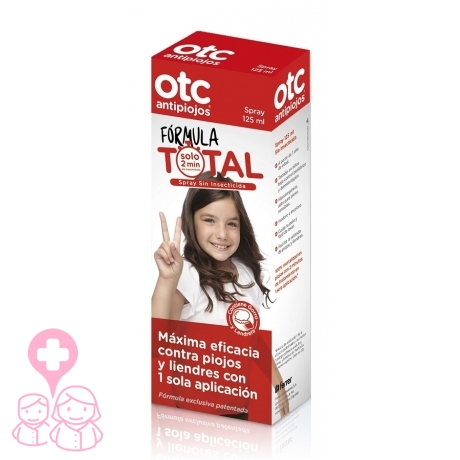 Otc Antipiojos Formula Total Spray Eficaz En 2 Minutos 125 Ml