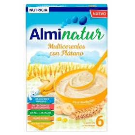 Alminatur Multicereales con Plátano  250 g