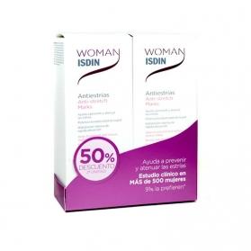 Woman Isdin DUPLO antiestrías 2x250ml 50% de descuento