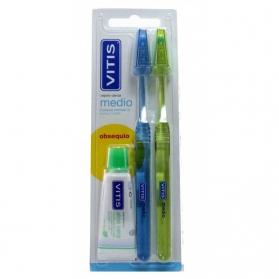 Vitis cepillo dental Medio DUPLO
