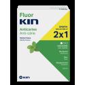 Fluor Kin anticaries DUPLO colutorio menta fresca 2x500ml