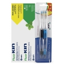 Fluor Kin DUPLO Anticaries pasta dental menta fresca 2x125ml + 2 cepillos