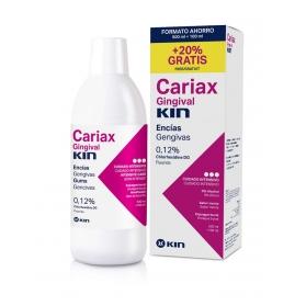Kin Cariax Gingival colutorio 500+100 ml 20% gratis