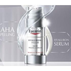 Eucerin hyaluron filler peeling & sérum noche 30 ml