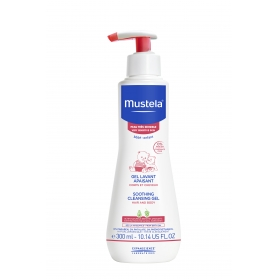 Mustela Piel Sensible gel de baño confort 300 ml