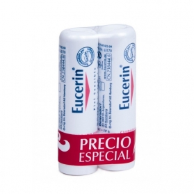 Eucerin Protector labial hidratante DUPLO 2x4,8 gr