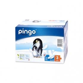 Pañales Pingo Midi Talla 3 4-9 KG 88 uds Ecológicos de Celulosa