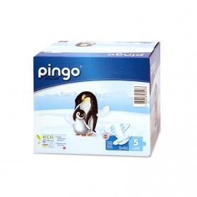 Pañales Pingo Junior Talla 5 11-25 KG 72 uds Ecológicos de Celulosa