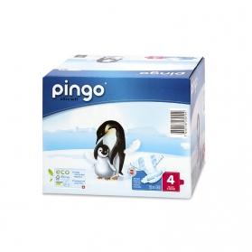 Pañales Pingo Maxi Talla 4 7-18 KG 80 uds Ecológicos de Celulosa