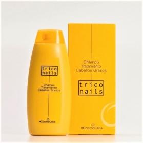 Triconails champú tratamiento para cabellos grasos 250 ml con Ictiol y Pantenol
