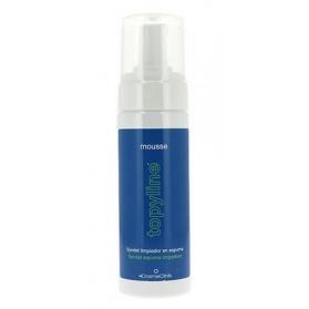 Topyline Mousse limpiador higiene de piel grasa 150 ml