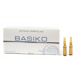Basiko Antiage tratamiento intensivo antiedad 30 ampollas