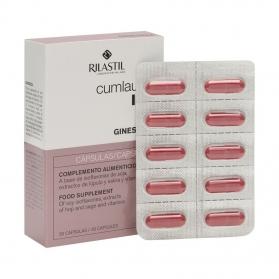 Gineseda menopausia 30 cápsulas con isoflavonas, lúpulo, salvia y vitaminas