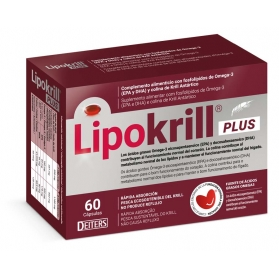 Lipokrill Plus con EPA y DHA salud cardiovascular 60 cápsulas