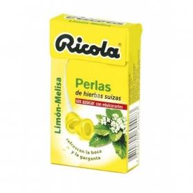 Ricola Limón perlas balsámicas sin azúcar 25 gr