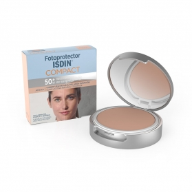 Fotoprotector isdin compact spf-50+ maquillaje oil-free arena 10 g