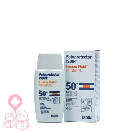 Fotoprotector isdin mineral fusion fluid 50ml