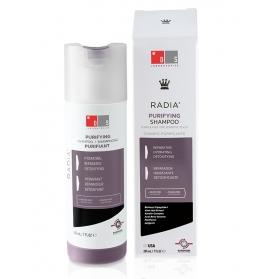 DS Radia champú purificante para cuero cabelludo sensible con péptidos 205ml
