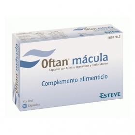Oftan Mácula 90 cápsulas Cuidado de la vista con Luteína y Retinol