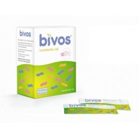 Bivos Sobres probiótico con Lactobacillus 10 minisobres 1,5 gr
