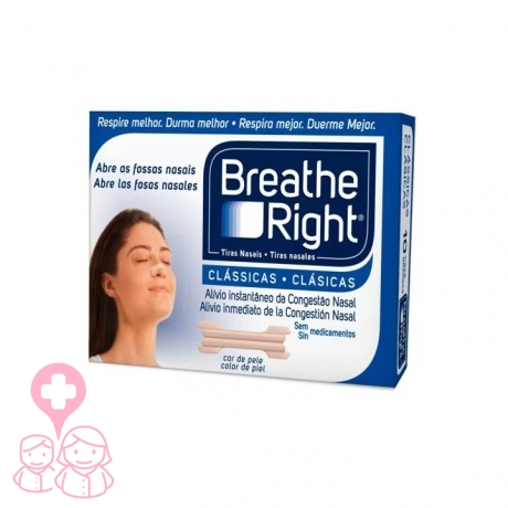 Breathe Right tira nasal talla pequeña 30 uds