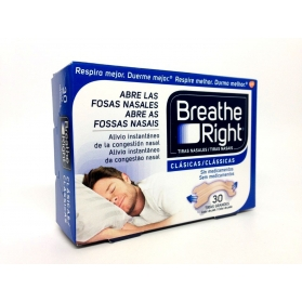 Breathe Right tira nasal talla Grande 30 uds