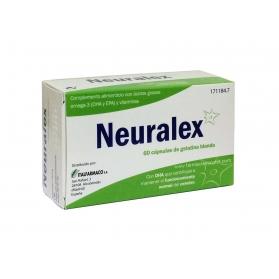 Neuralex 60 cápsulas función cognitiva con EPA, DHA y vitaminas