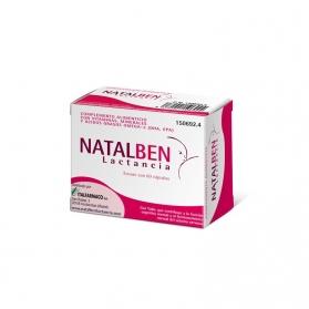Natalben Lactancia 60 cápsulas con DHA, EPA, Vitaminas y Minerales