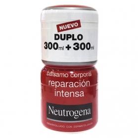 Neutrogena bálsamo corporal Reparación Intensa DUPLO 2x300 ml