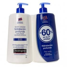 Neutrogena loción corporal DUPLO piel seca 2x750 ml