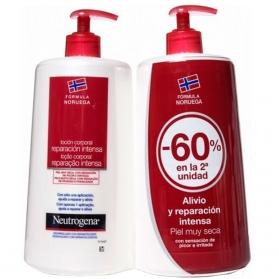 Neutrogena loción corporal DUPLO piel muy seca 2x750 ml