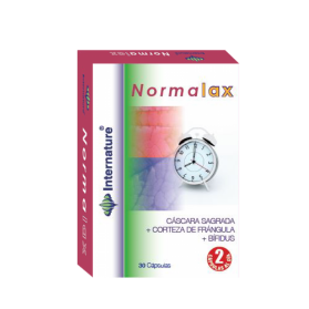 Internature Normalax 30 cápsulas para el tránsito intestinal