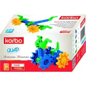 Korbo Quad juguete de construcción 18 piezas