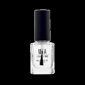 Mia Cosmetics Top Coat Efecto Gel fórmula 9-free gran cobertura 11 ml