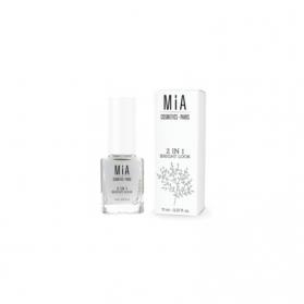 Mia Laurens Bright Look tratamiento blanqueante 2 en 1 esmalte 11 ml