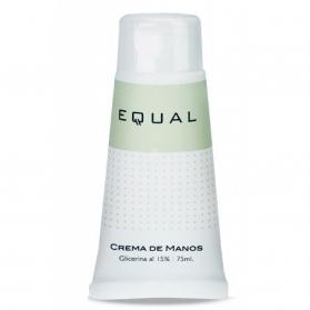 Equal crema de manos con Glicerina, Aloe y Alantoína 75 ml