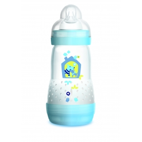 MAM Easy Start biberón anticólico tetina silicona SkinSoft 260 ml