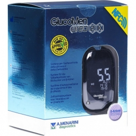 Glucomen Areo 2K glucómetro medidor de glucosa y cuerpos cetónicos